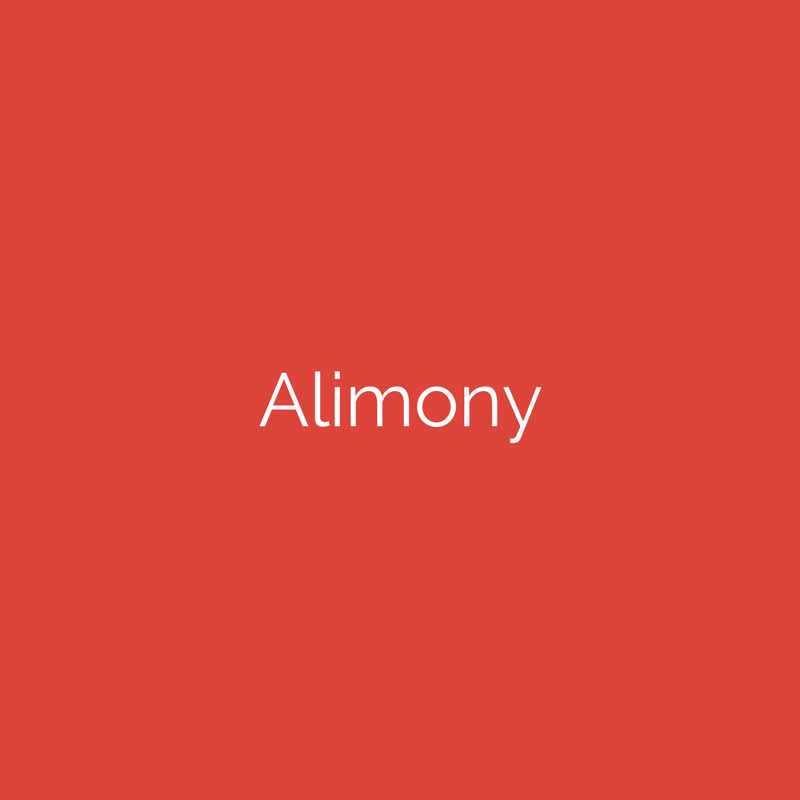 Alimony- Divorce Lawyer in MD