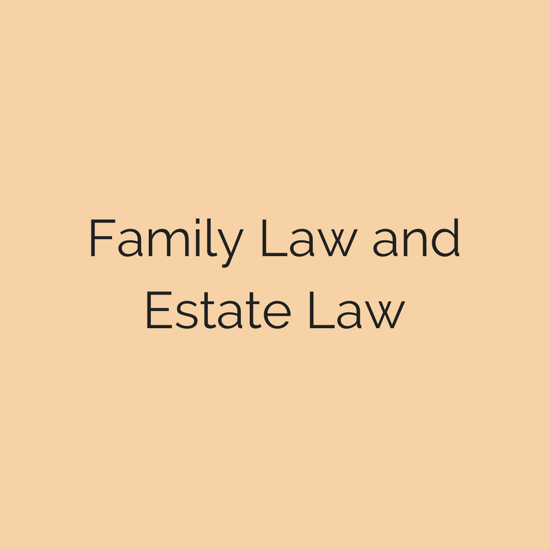 Family Law Attorney and Estate Law Practice Area Frederick MD