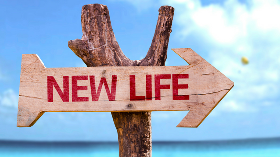 New life sign pointing to your future - Mediation Rockville MD
